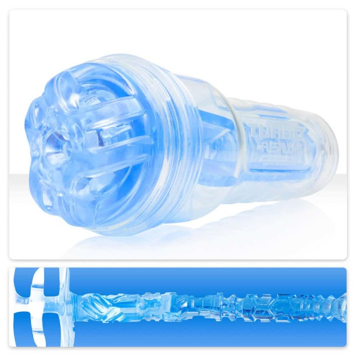 Masturbator Turbo Trust Ignition Blue Ice