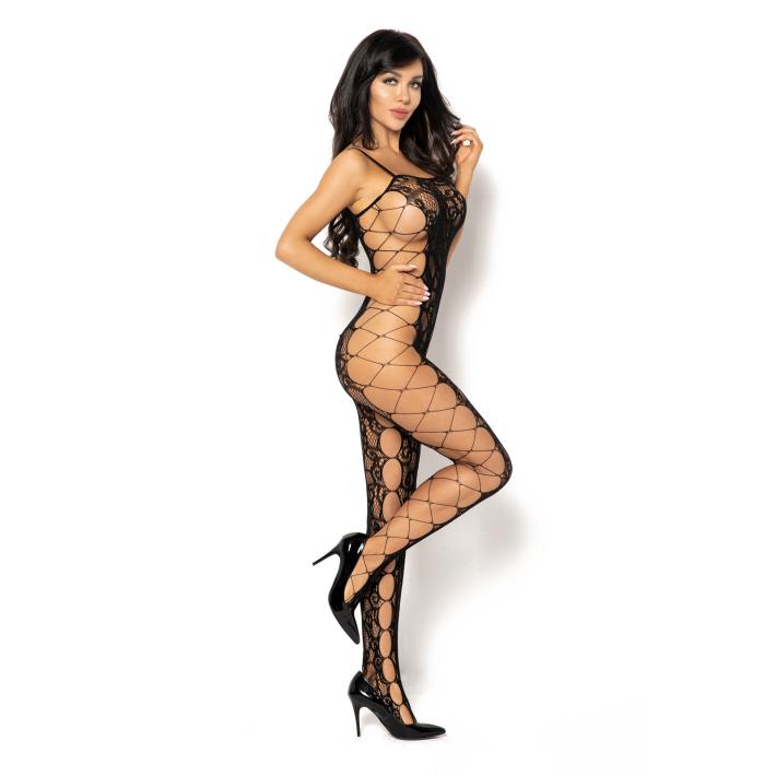 Catsuit / Body Stockings Portia - Negru, S/l