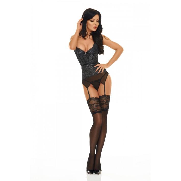 Corset Sexy Ileen - Negru L/xl, S-m