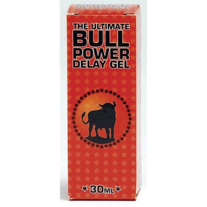 Gel Contra Ejacularii Precoce Bull Power Delay, 30 Ml