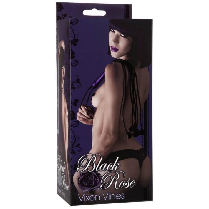 Bici Black Rose Vixen Vines, Negru Cu Mov