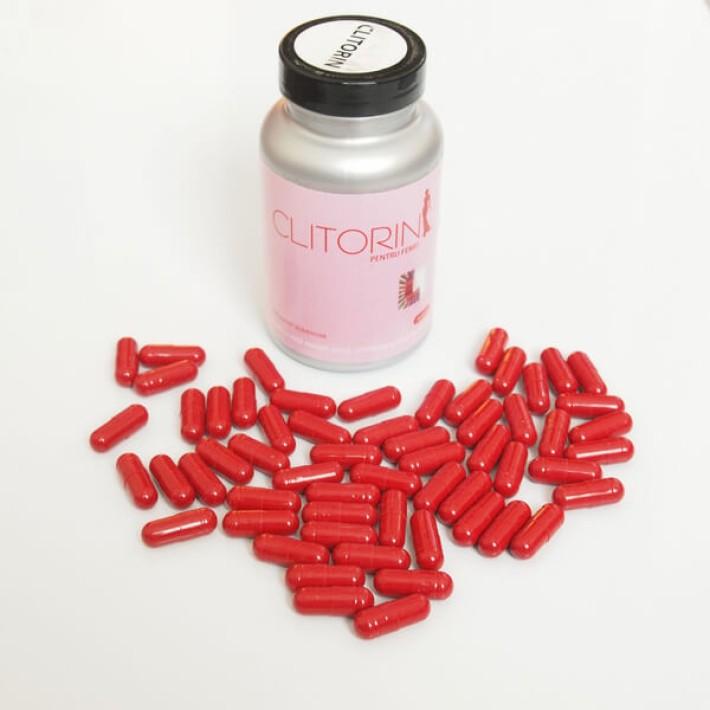Clitorin (60 Capsule) - Stimulent Sexual Pentru Femei