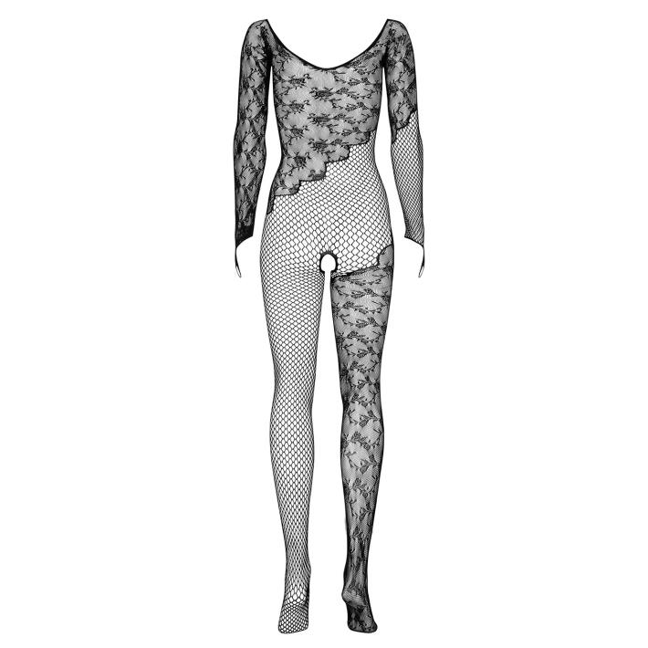 Catsuit / Body Stockings F210 - Negru S/m/l, Xl/2xl