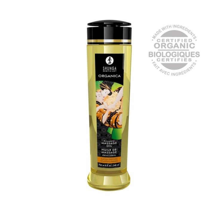 Ulei Pentru Masaj Erotic Organica Almond Sweetness, 240 Ml