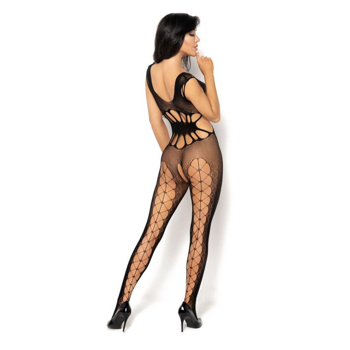 Catsuit / Body Stockings Etain - Negru, S/l