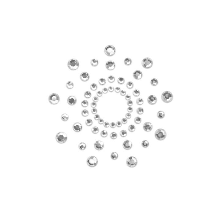 Bijuterii Intime Adezive Nipple Covers Mimi, Argintiu