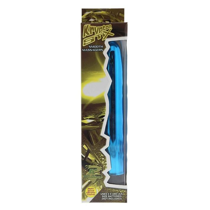 Vibrator Krypton Stix 6, Albastru, 15 Cm