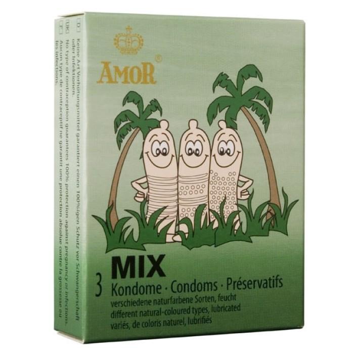 Prezervative Amor Mix, 3 Buc