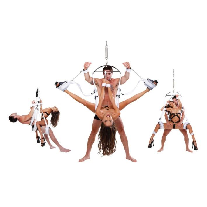 Leagan Erotic Fantasy Bondage Swing, Alb