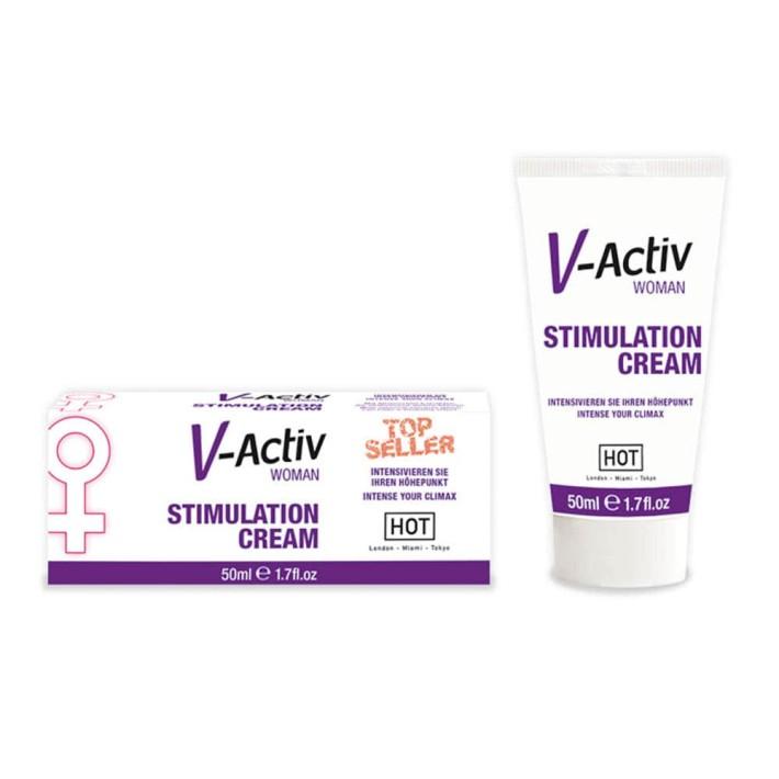 Crema Afrodiziaca Pentru Femei V-activ, 50 Ml