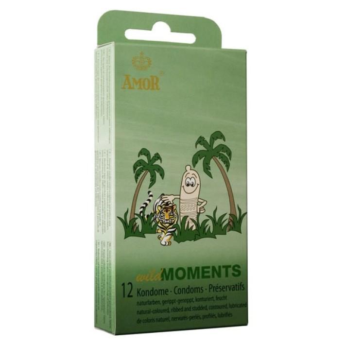 Prezervative Amor Wild Moments 12 Buc