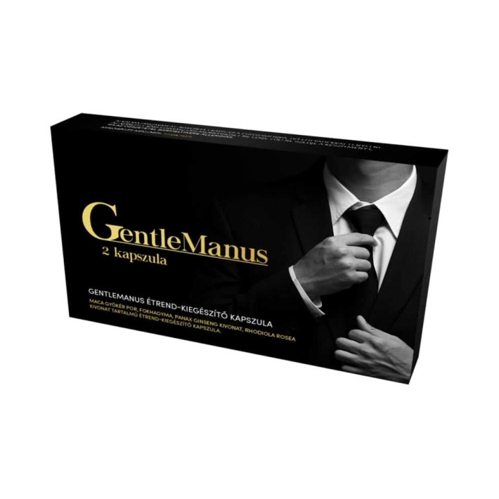 Afrodiziac Masculin Gentlemanus Potency Increaser, 2 Capsule