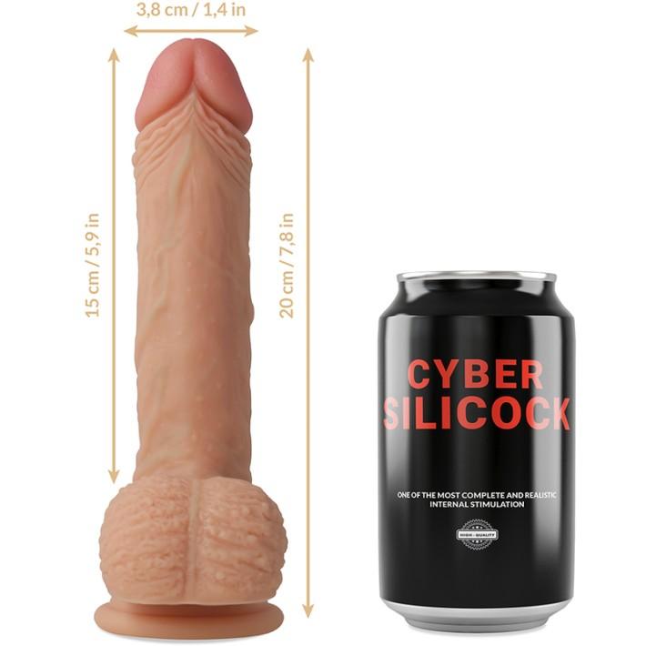 Dildo Cyber Silicock Freeman 20cm
