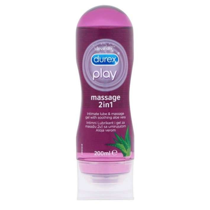 Lubrifiant Durex Play Massage 2 In 1 200 Ml