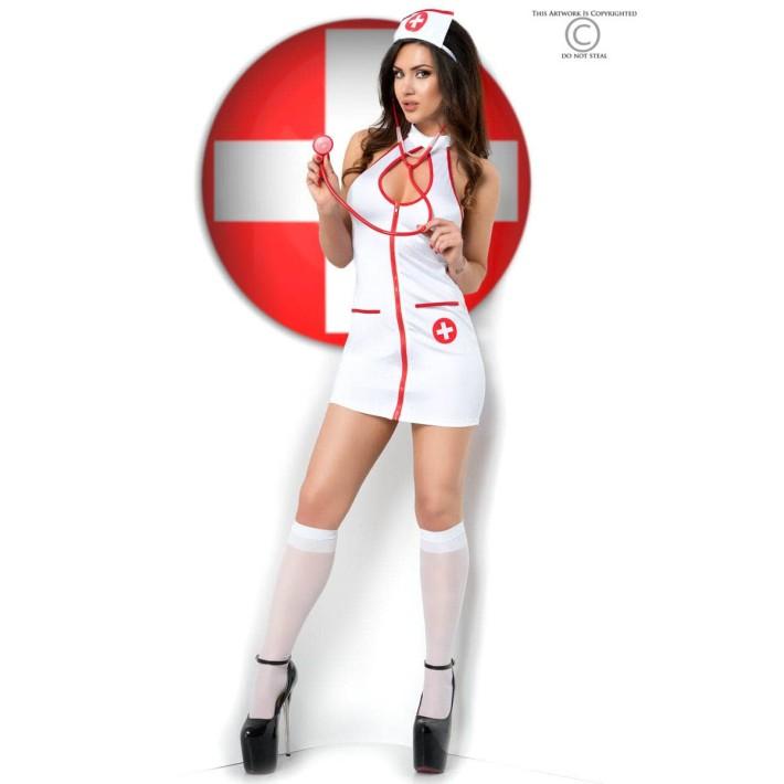 Costum Asistenta Sexy S-m