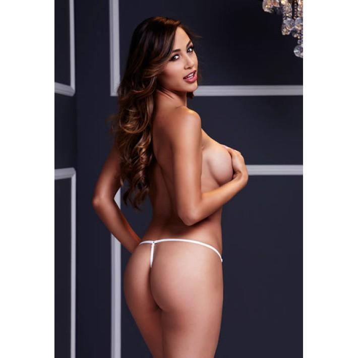 Bikini Cu Fontita Albi