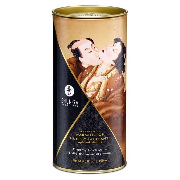 Ulei Afrodisiac Cu Efect De Caldura Creamy Love Latte, 100 Ml