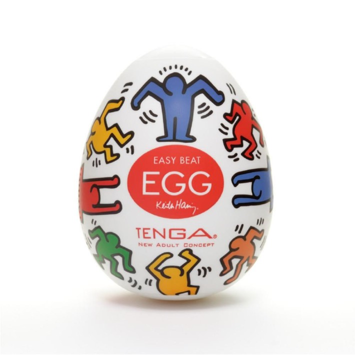 Mini Masturbator Tenga Egg Keith Haring Dance
