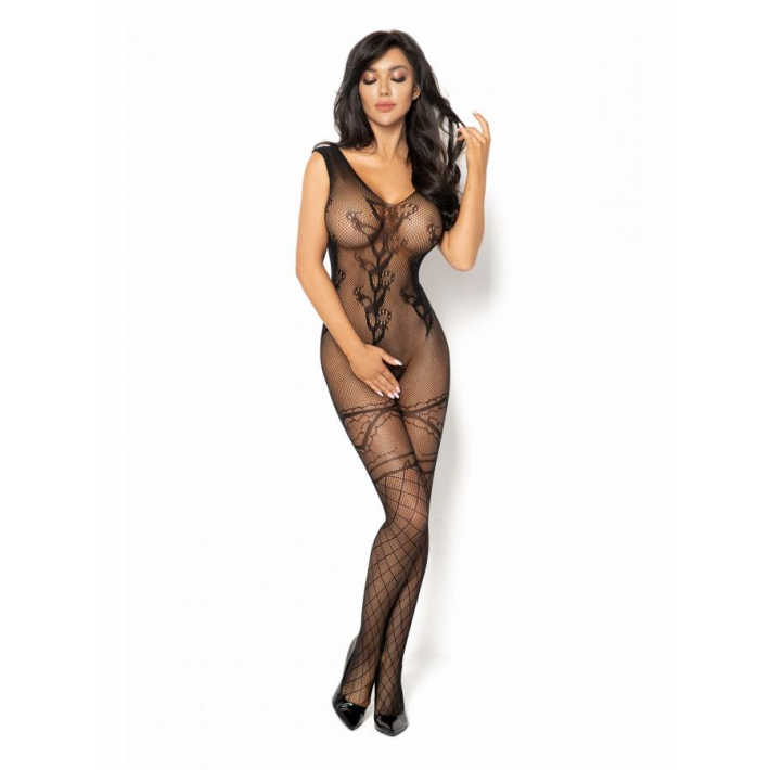 Catsuit / Body Stockings Oriana - Negru, S/l