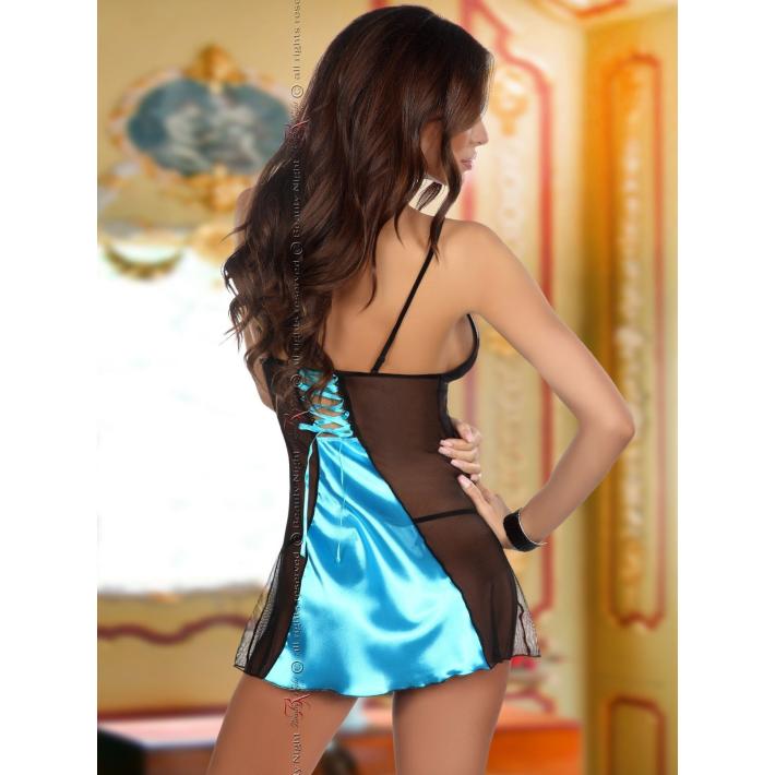 Desu Sexy Michele Turquoise - Turcoaz L/xl, S-m