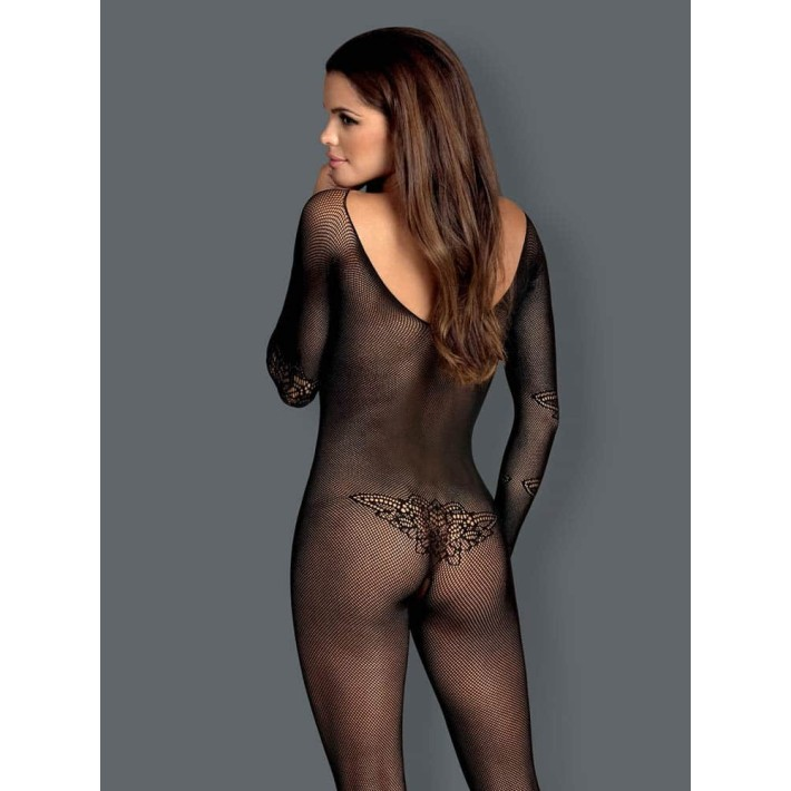 Catsuit / Body Stockings N120 - Negru, S/l