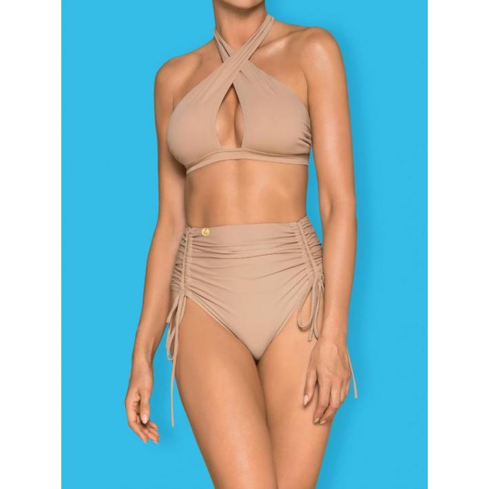Costum De Baie Hamptonella - Bej L, M, S, Xl