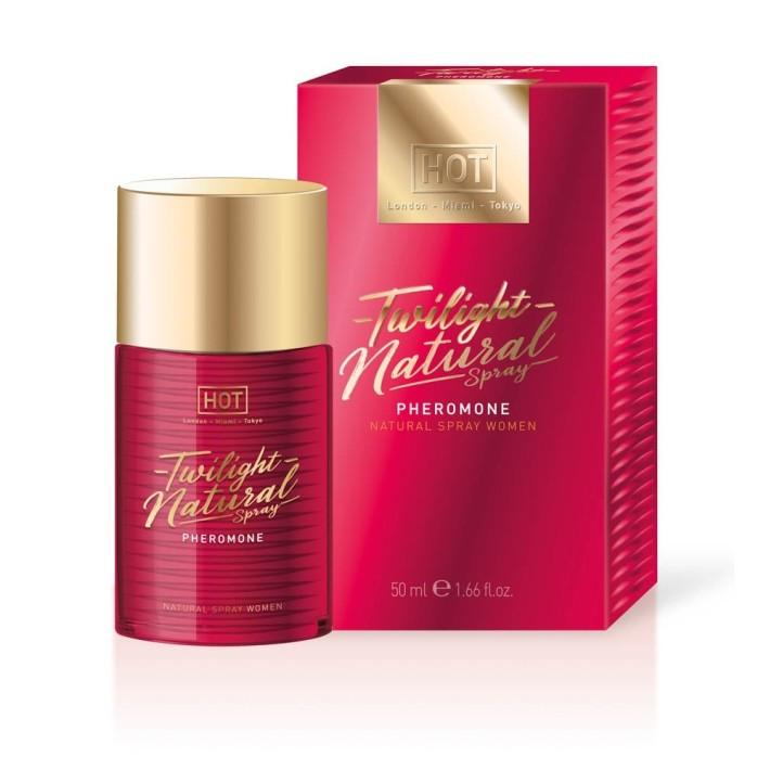 Parfum Cu Feromoni Pentru Femei Twilight Natural Spray, 50 Ml