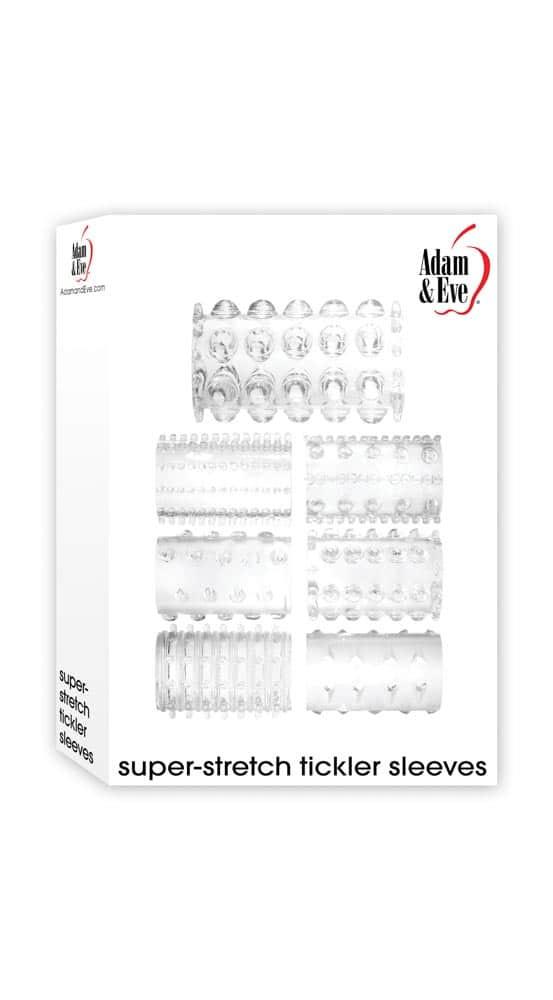 Set 7 Mansoane Penis Super Stretch Tickler