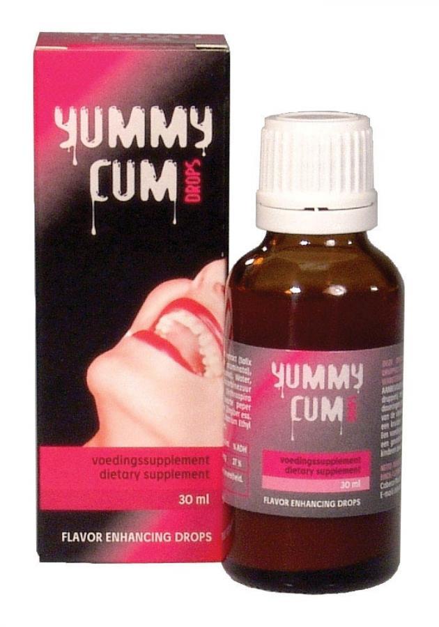 Solutie Pentru Imbunatatirea Aromei Spermei Yummy Cum Drops 30 Ml