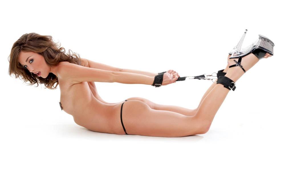 Set Imobilizare Erotica Bondage Heavy-duty Hogtie