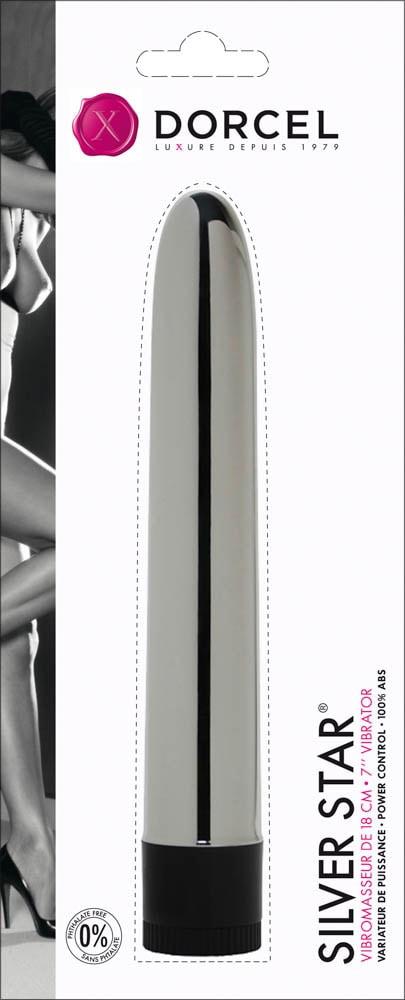 Vibrator Clasic Silver Star