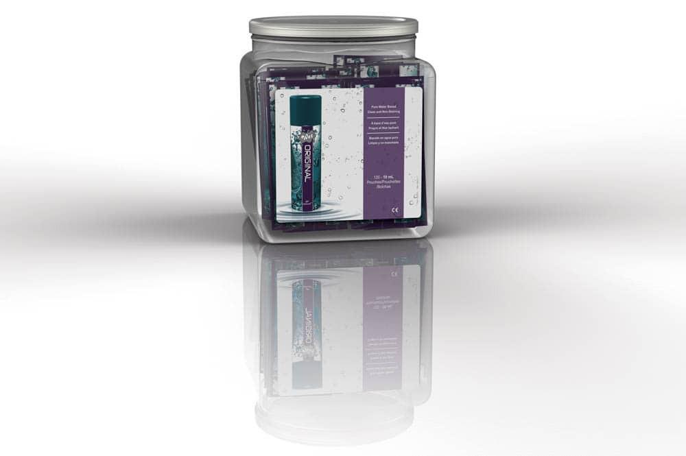 Gel Lubrifiant Wet Original 120 Pliculete X 10 Ml