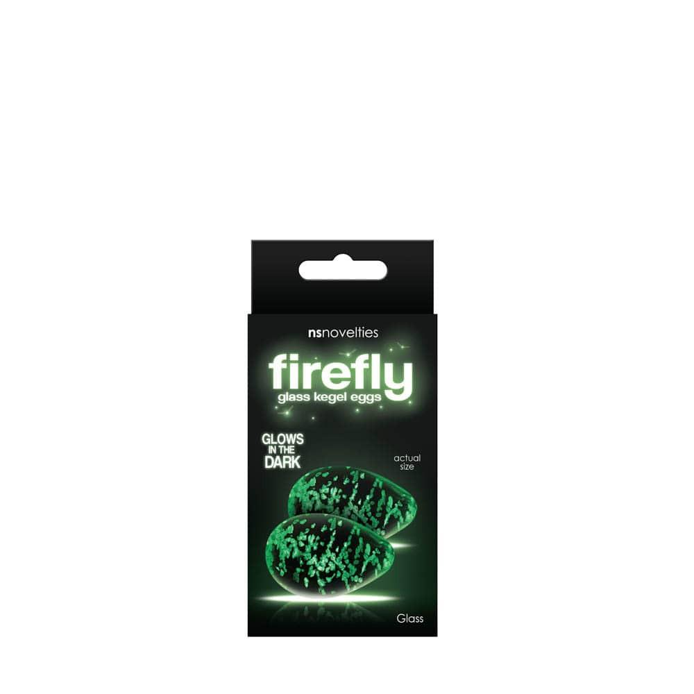 Bile Vaginale Forsforescente Firefly Glass - Kegel Eggs - Transparente