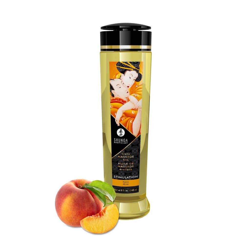 Ulei Pentru Masaj Erotic Peach 240 Ml