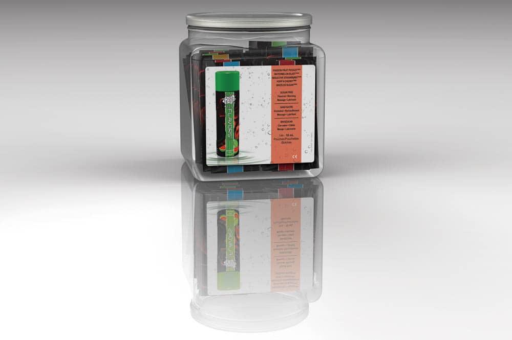 Set Uleiuri Wet Fun Flavors 4-in-1 10ml (144 Buc. Display Gratuit)