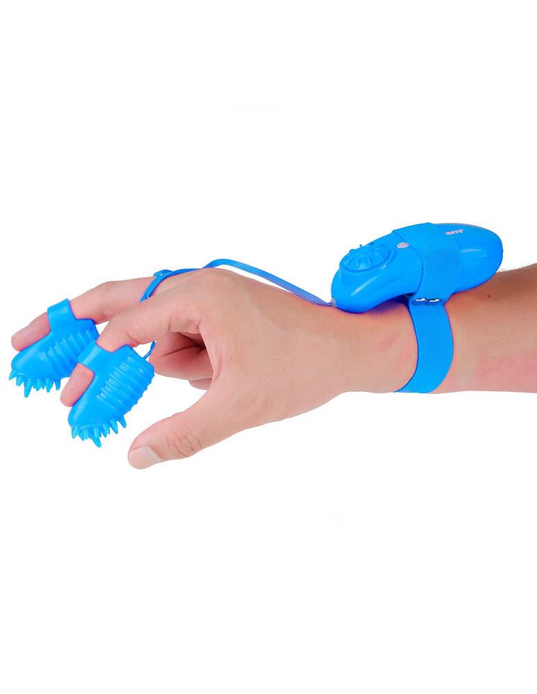 Degetar Neon Magic Touch Finger Fun Turcoaz