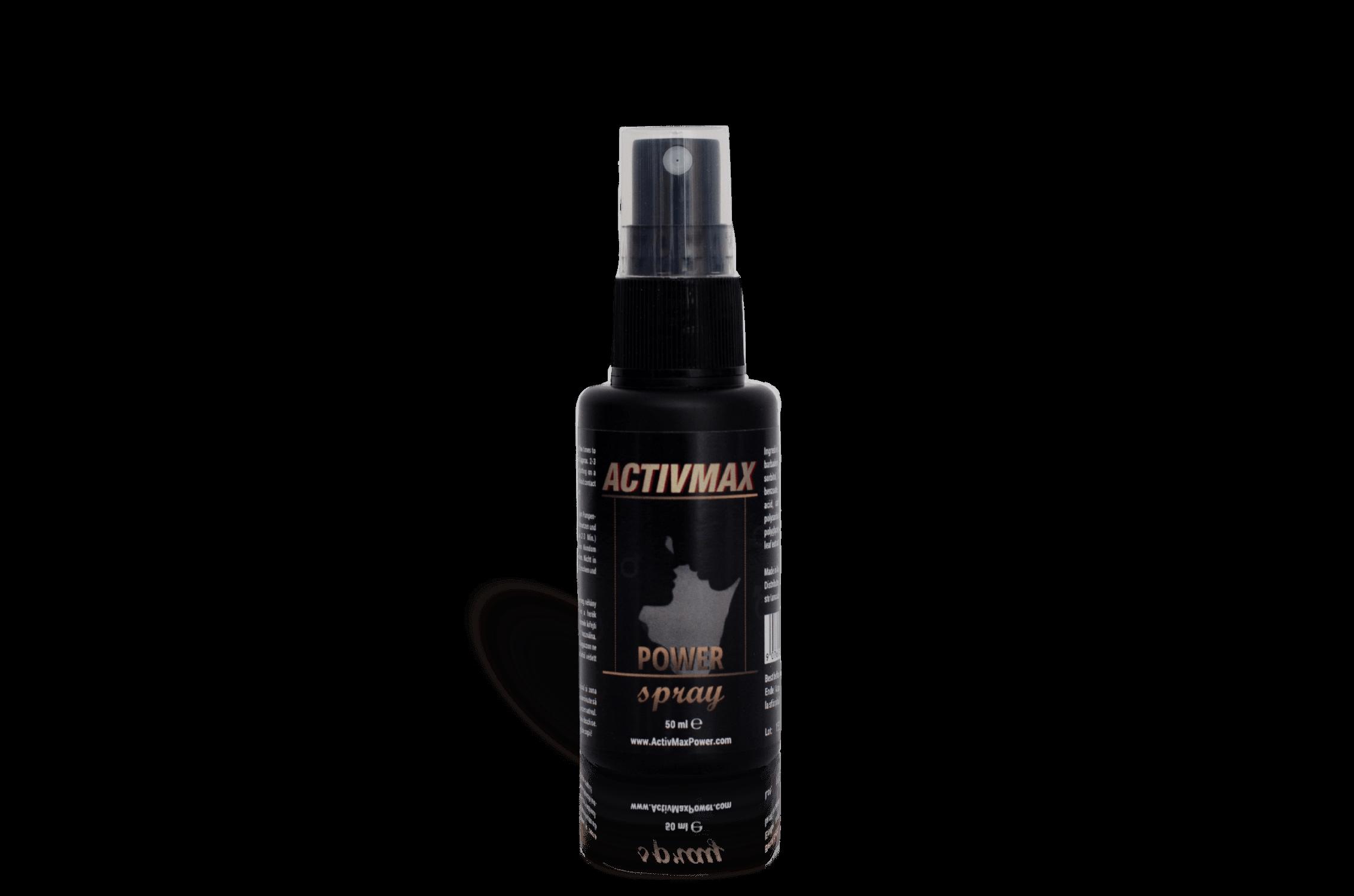Activmax (50ml) - Spray Pentru Potenta Si Ejaculare Prematura
