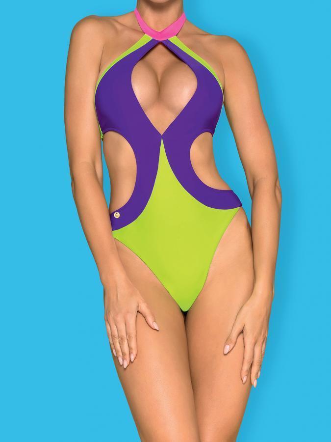 Costum De Baie Playa Norte - Verde L M S