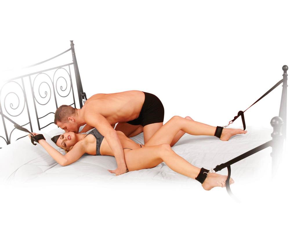 Set Pentru Imobilizare Erotica Cuff & Tether