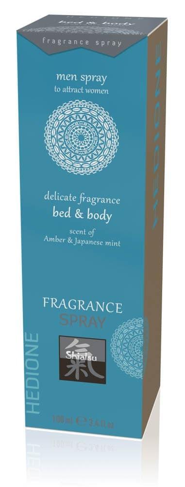 Spray Afrodisiac Bed & Body Pentru Femei Ambra & Menta Japoneza 100 Ml